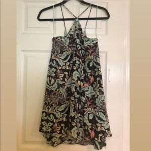 Olivaceous Print Summer Dress